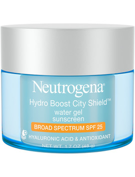 Hydro Boost City Shield Water Gel With Broad Spectrum Spf 25 by Neutrogena