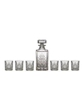 John Lewis & Partners Sirius Crystal Glass Decanter And Tumblers Set, 7 Pieces by John Lewis & Partners