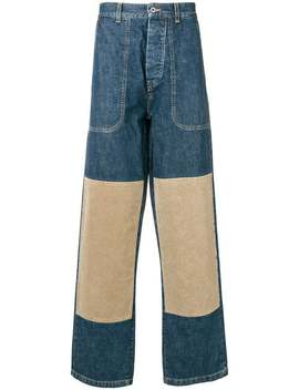 Knee Patch Jeans by Loewe