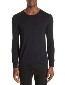 Wool Crewneck Sweater by John Varvatos Collection