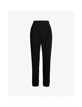 Mid Rise Cropped Cotton Wide Leg Trousers by Max Mara Elegante