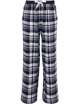 Checked Flannel Pajama Pants by Dkny