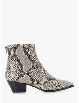 Steve Madden Cafe Sm Ankle Boots, Reptile Leather by Steve Madden