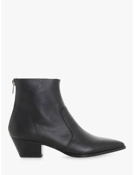 Steve Madden Cafe Sm Ankle Boots, Black Leather by Steve Madden