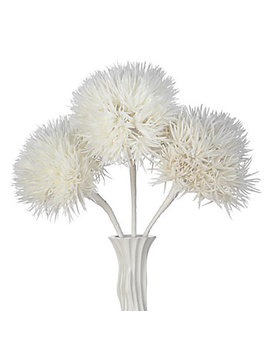 Faux Allium Stem   Set Of 3 by Z Gallerie
