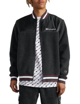 Fleece Baseball Jacket by Champion