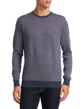 Collection Birdseye Merino Sweater by Saks Fifth Avenue