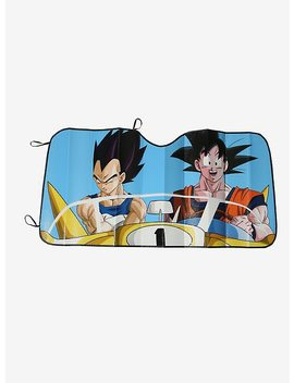 Dragon Ball Z Goku Vegeta Sunshade by Hot Topic