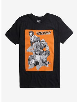 Cowboy Bebop Group Square T Shirt by Hot Topic
