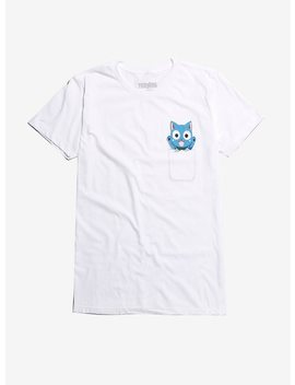 Fairy Tail Happy Pocket T Shirt by Hot Topic
