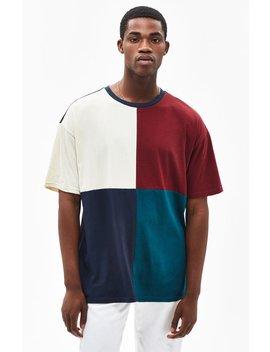 Pac Sun Asbure Colorblock Oversized T Shirt by Pacsun