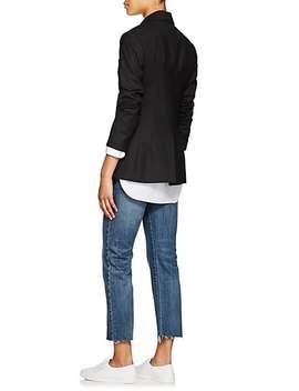 Classon Virgin Wool Single Button Blazer by Nili Lotan