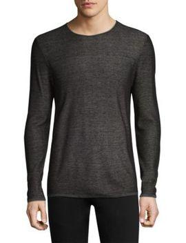 Double Face Crewneck Sweater by John Varvatos