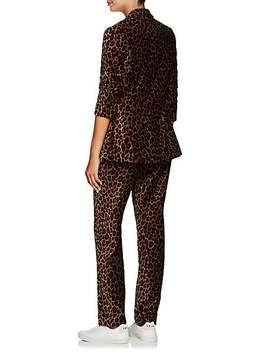 Mercer Leopard Print Velvet Blazer by A.L.C.