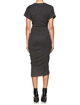 Jisa Ruched Wool Sheath Dress by Isabel Marant Étoile