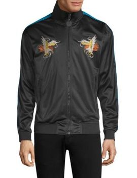 Vetty Embroidered Bomber Jacket by Diesel