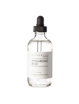 Hyaluronic Acid Serum 4 Oz   100 Percents Pure Organic Ha   Anti Aging Anti Wrinkle   Original Face Moisturizer For Dry Skin & Fine Lines   Leaves Skin Full &... by Asterwood Naturals
