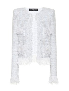 Exclusive To Mytheresa – Metallic Bouclé Jacket by Balmain