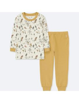 Toddler Disney Collection  Long Sleeve Pajamas by Uniqlo