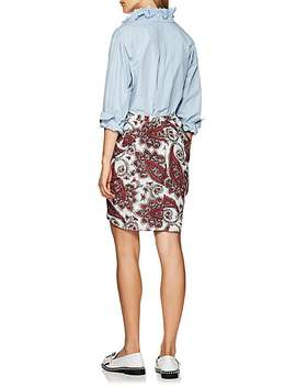 Mora Embroidered Cotton Blouse by Isabel Marant Étoile