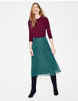 Serena Midi Skirt by Boden
