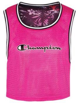 Champion Reversible Mesh Crop Tank   Women's by Champion