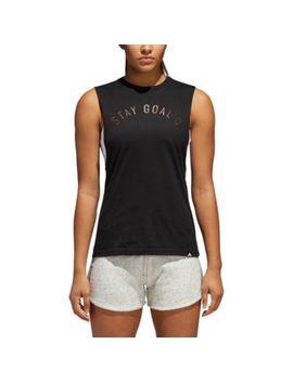 Adidas Metallic Muscle T Shirt   Women's by Adidas