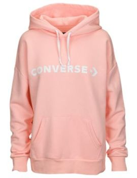 Converse Star Chevron Oversized Pullover Hoodie   Women's by Converse