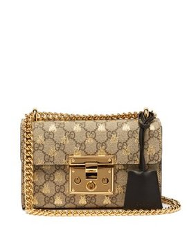 Padlock Gg Supreme Small Cross Body Bag by Matches Fashion
