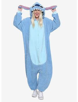 Disney Lilo & Stitch Sherpa Stitch Union Suit by Hot Topic
