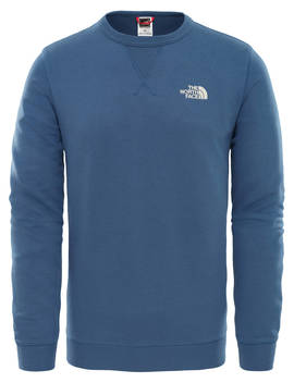 The North Face Straight Fleece Pullover, Shady Blue/Vintage White by The North Face