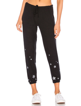 Starry Night Drawstring Pant by Chaser