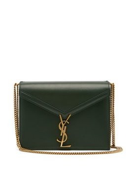 Cassandra Ysl Clasp Leather Cross Body Bag by Matches Fashion