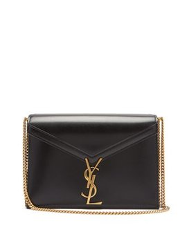 Cassandra Monogram Leather Cross Body Bag by Matches Fashion