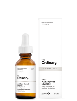 100 Percents Plant Derived Squalane by The Ordinary