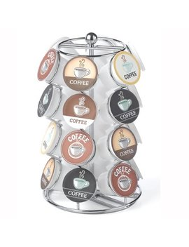 24 Capacity Coffee Pod Carousel In Chrome by Nifty