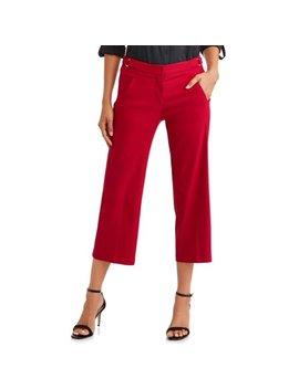 Women's Luxury Wide Leg Crop Pant by Heart N Crush