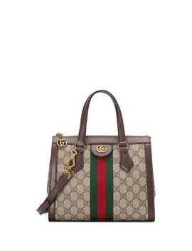 Ophidia Small Gg Supreme Canvas Tote Bag by Gucci