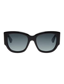 Black Sylvie Sunglasses by Gucci