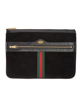 Black Ophidia Pouch by Gucci