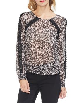 Poetic Ditsy Blouse by Vince Camuto