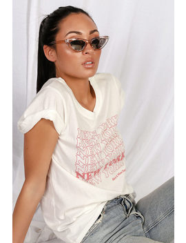Park Ave Pink And Silver Mirrored Small Cat Eye Sunglasses by Lulus
