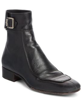 Miles Buckle Cuff Boot by Saint Laurent