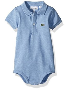 Lacoste Baby Boys Layette Short Sleeve Pique Body Gift Box by Lacoste