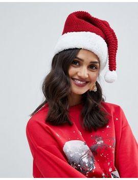 Typo Christmas Santa Crochet Hat by Typo