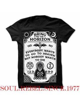 Bring Me The Horizon Black Heavy Metal  Punk Rock Classic T Shirt Men's Sizes by Unbranded