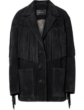 Daya Fringed Suede Jacket by Isabel Marant
