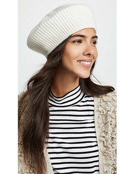 Pete Cashmere Beret by Janessa Leone
