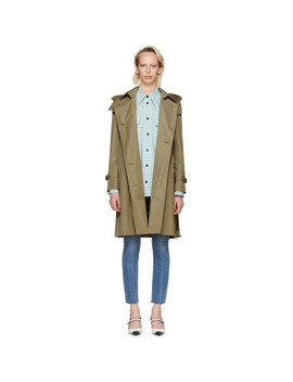 Tan Amberford Trench Coat by Burberry