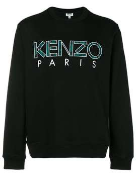 Appliqué Paris Logo Sweatshirt by Kenzo